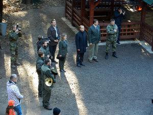 Otevírání altánu uTvrze Bouda - Těchonín 27.10. 2014 04