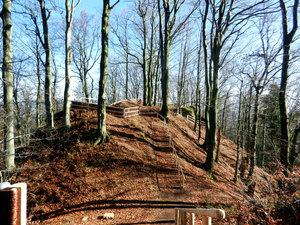 Naučná stezka na hradním kopci Žampach I