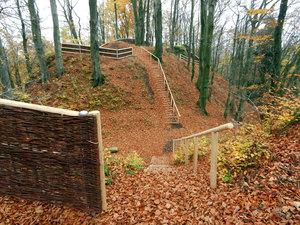 Naučná stezka na hradním kopci Žampach II