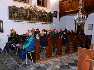 Předvánoční troubení - kostel Sv. Anny vAlbrechticích uLanškrouna 05