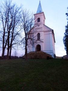 Předvánoční troubení - kostel Sv. Anny vAlbrechticích uLanškrouna 07